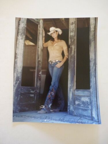 Terri Clark Country Music Singer 8x10 Color Promo Photo #2