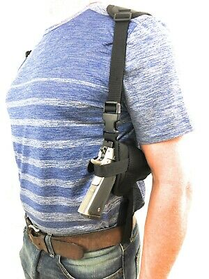 Gun Shoulder Holster Rig Fits Smith and Wesson M&P Shield 9mm,