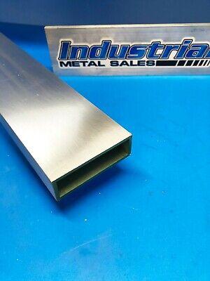 6063 Aluminum Rectangle Tube 1 X 3 X 12 X 18 Wall--1 X 3 X .125 Wall