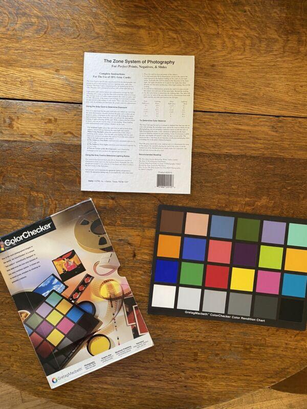 GretagMacbeth Colorchecker 24 Color Chart