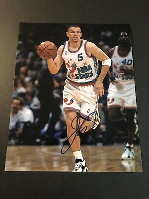 acc92fde96f9 Jason Kidd Signed Autographed 8x10 Photo Auto Nets Mavs Knicks HOF COA PROOF