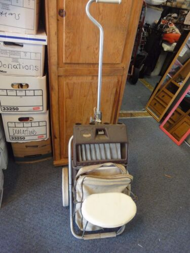 Rare Vintage Clubster II Golf Bag Caddy Cart  with seat