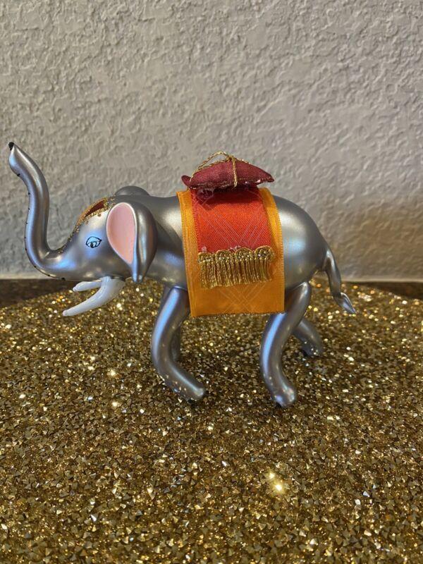 Soffieria De Carlini Asian Elephant Ornament NWT