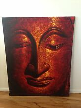 Buddha painting from Thailand canvas Macquarie Fields Campbelltown Area Preview