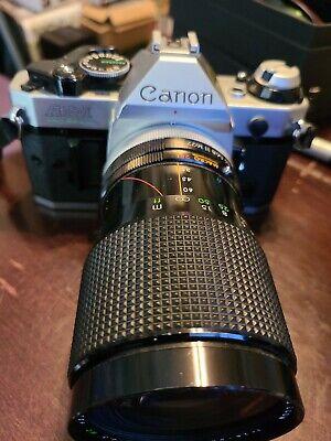 Canon AE-1 Program 35mm Film Manual Camera w/gemini lens Excellent Condition