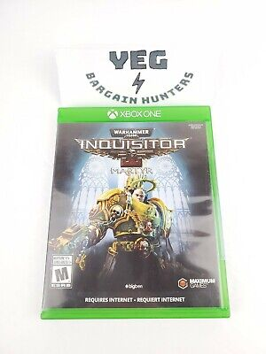 Warhammer 40,000: Inquisitor - Martyr (Microsoft Xbox One, 2018) Complete Tested