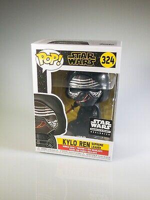 Star Wars Funko POP #324 Kylo Ren Smugglers Bounty Exclusive!