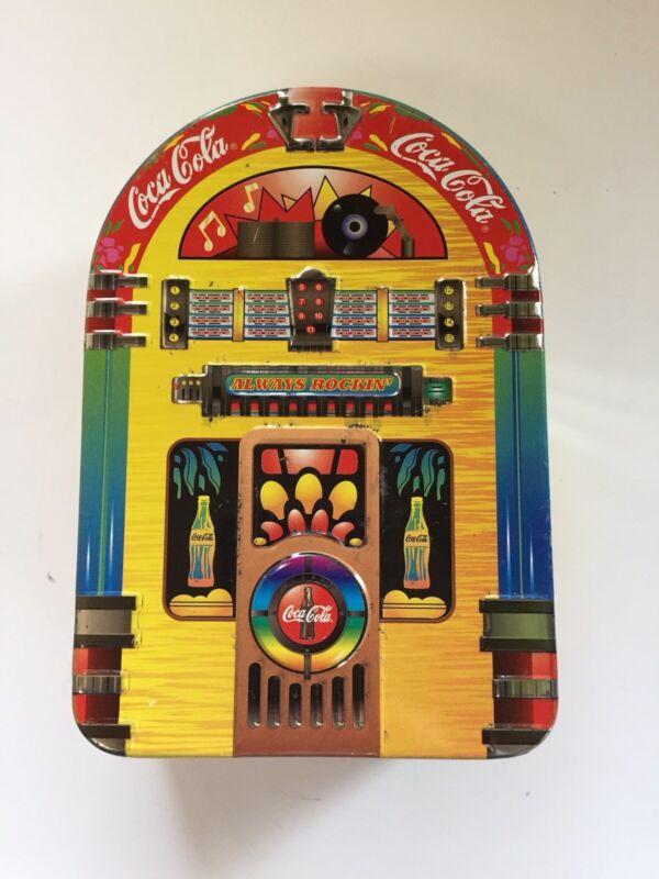 Coca Cola Collectible Tin, Juke Box, Always Rockin