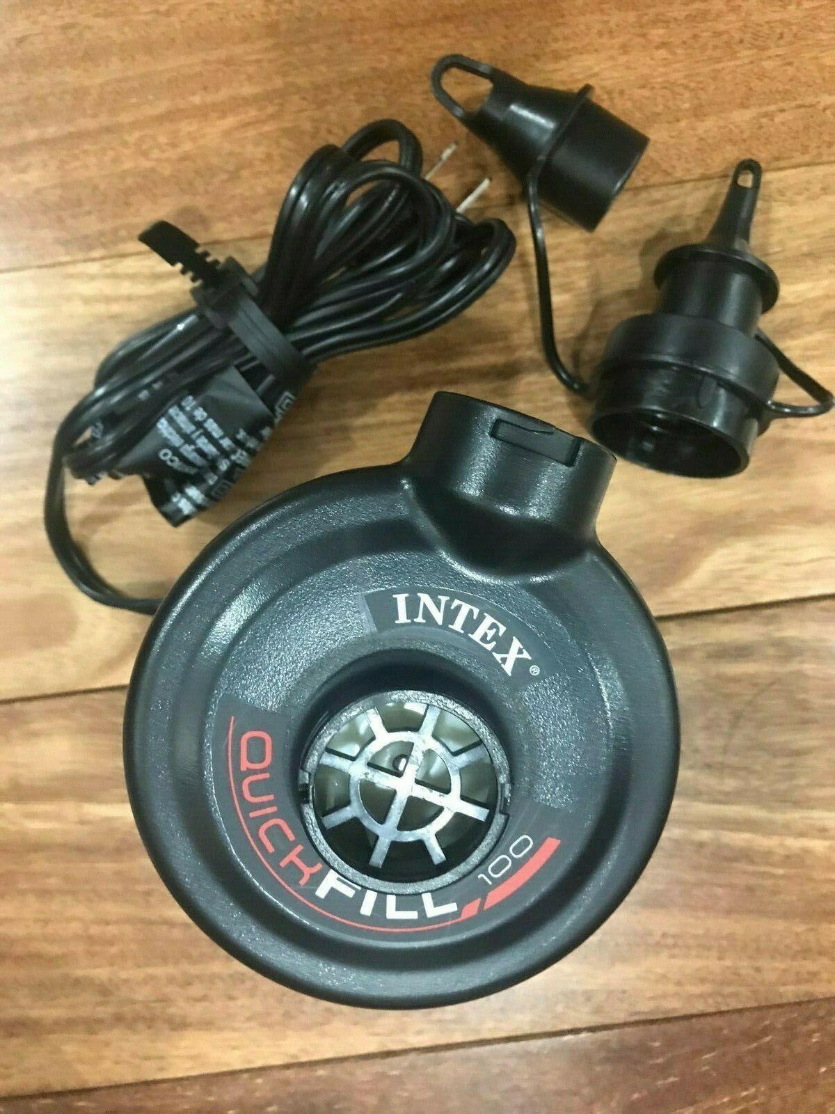 INTEX 120V Quick Fill AC Electric Air Pump w/ Nozzles | 6661