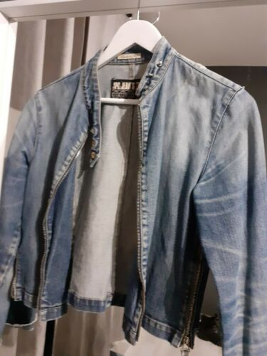 Veste en jean vintage jpgaultier taille38