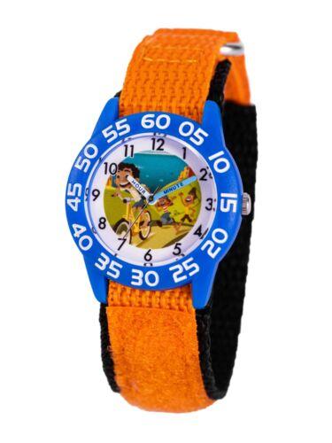 Disney Pixar Luca (Giulia, Alberto, Luca) Kids Orange Plastic Time Teacher Watch