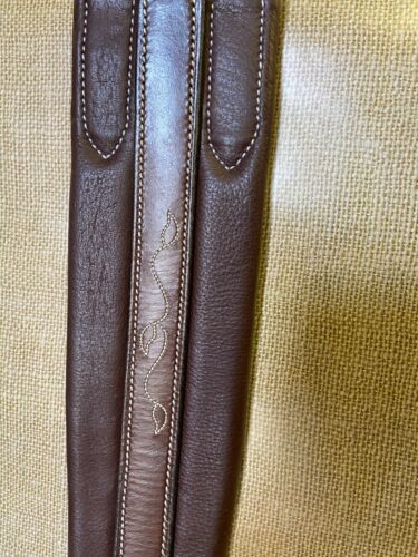 """Toklat Silverleaf Fancy Chafeless Girth African Walnut (46"""", 48"""",52"""", 54"""")"""