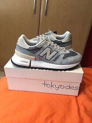 New Balance RC 1300 Tokyo Design Grey Blue UK 9 Deadstock 990 991 Oi Polloi