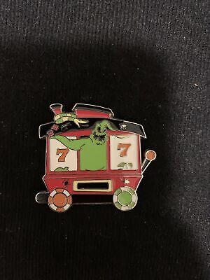 oogie boogie Nightmare Before Christmas Train Disney Pin Set Piece