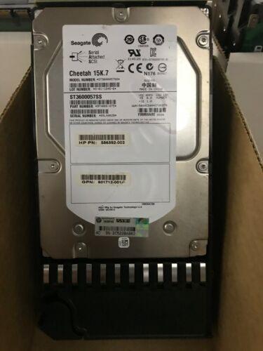 """AP860A - 601777-001 HPE 600GB 15K SAS 3.5"""" HARD DRIVE W/TRAY"""