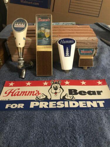 HAMMS BEER TAPS AND NOVELTIES