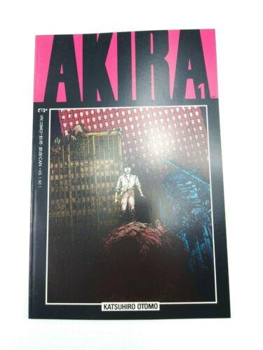 Akira #1 Epic 1988 2nd Print Katsuhiro Otomo Manga VF/NM High Grade