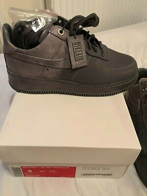 Nike x Pigalle Air Force 1 Low Cool Grey Off White Ronnie...