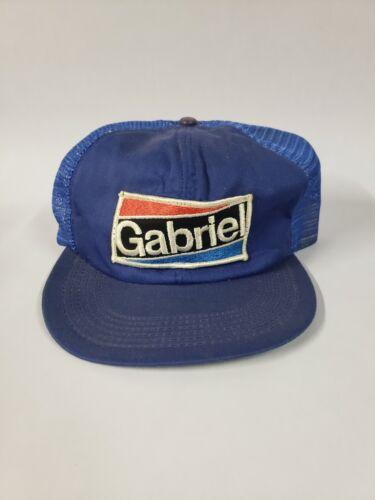 Vintage Gabriel Patch Snap Back Trucker Hat, Made in U.S.A.
