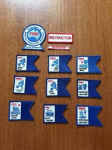 FAUI Dive badges