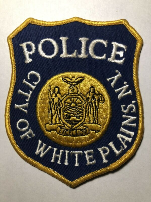 White Plaines New York Police Patch