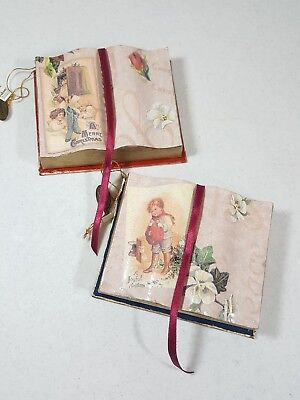 Halloween Gift Card Box (Katherine's Collection 2 Christmas Open Book Ornaments Boxes Gift Card)