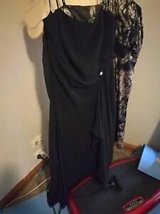 Black evening dress Howlong Albury Area Preview
