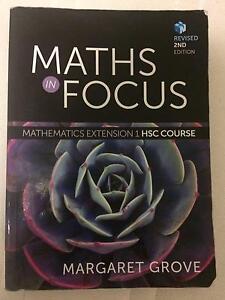 Maths in Focus HSC Extension 1 Mathematics Textbook Belrose Warringah Area Preview