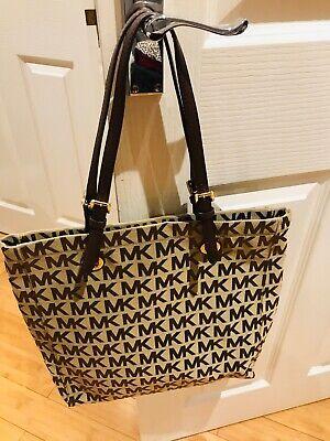 NEW MICHAEL KORS  Brown Large Tote Bag