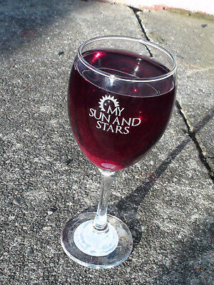 Game of thrones MY SUN AND STARS personalised engraved Wine Glass for - Christmas Paper Plate Game