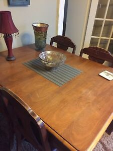 I'M OPEN TO OFFERS!!!! Antique dining room set with buffet