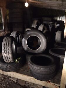 Lots of tires for sale!! 15s all the way up to 20s truck tires