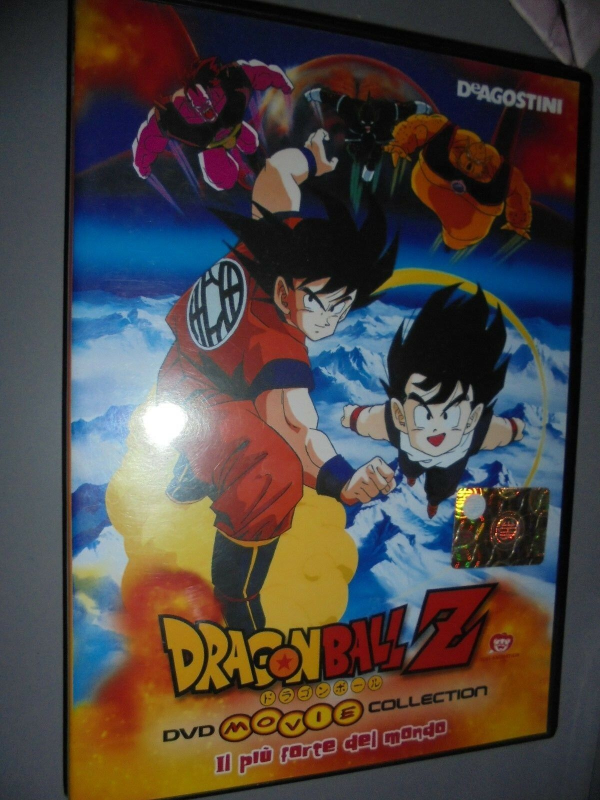 Galleria fotografica DVD DRAGONBALL Z IL PIU' FORTE DEL MONDO MOVIE COLLECTION DEAGOSTINI