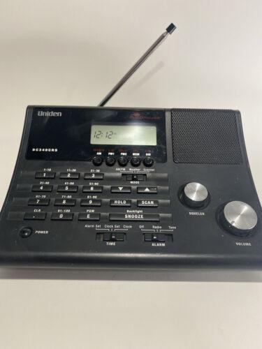 Uniden Bearcat BC340CRS Police Scanner Weather Radio Alarm C