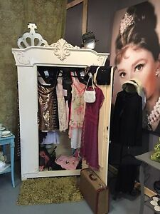 Beautiful antique wardrobe