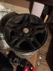 Set of four 16 inch rims