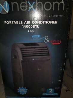 4KW portable air conditioner, under warranty to Feb 2019