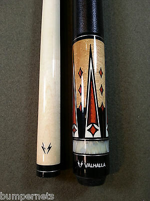 New Viking Maple & White Pearl Pool Cue Billiards Stick Free Fast Shipping 702