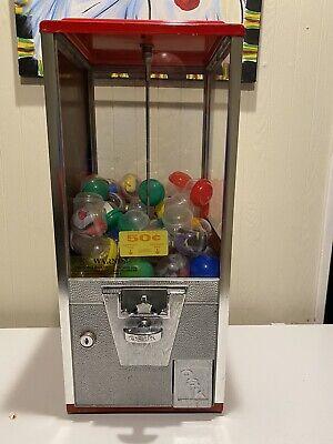 Oak 2 Capsule Vending Machine With Lock And Key