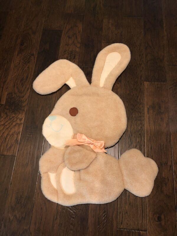 JUDI'S Bunny plush puffy Baby Nursery Wall Hanging
