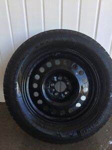 WINTER TIRES 245/60/R18 on Rims Mint