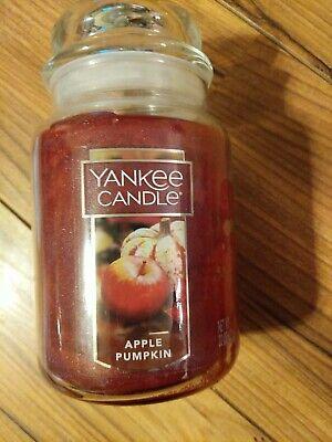 NEW Yankee Candle APPLE PUMPKIN 22 oz Large Jar Candle