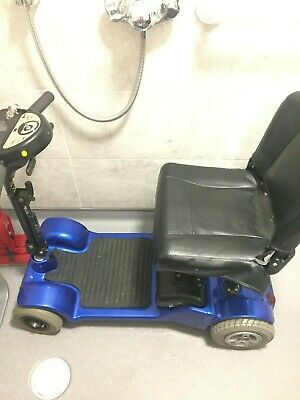 Sterlings Little Gem Mobility Scooter - dark blue, used, fair condition