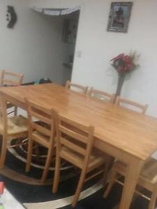 9 pc dining table with chairs Brookdale Armadale Area Preview