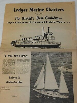 LEDGER MARINE CHARTERS PRESENTS The Worlds Best Cruising 1960's