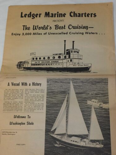 LEDGER MARINE CHARTERS PRESENTS The Worlds Best Cruising 1960