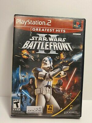 G - Star Wars: Battlefront II (Sony PlayStation 2, 2005) PS2 - Complete