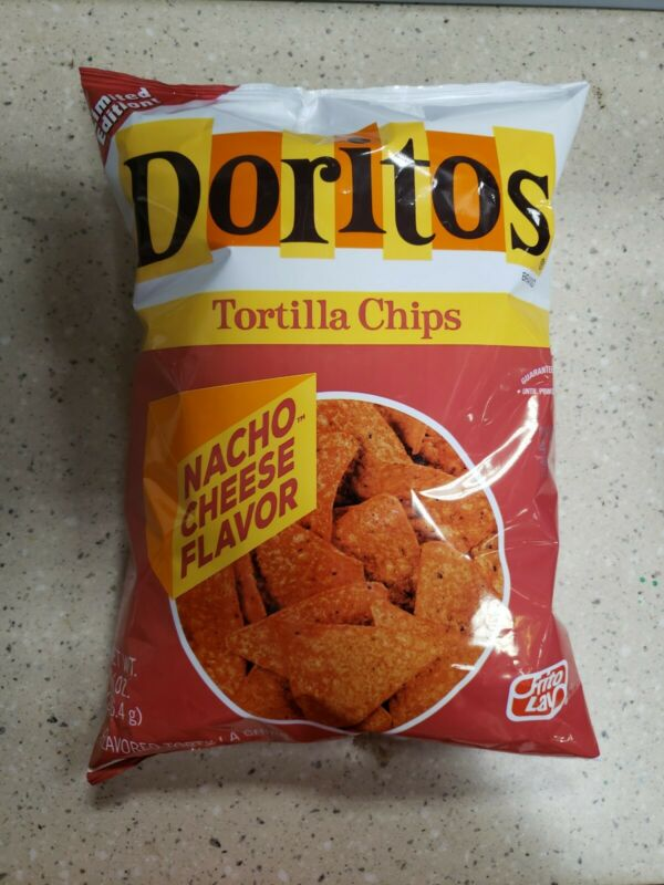 Limited Edittion Vintage Nacho Cheese Doritos