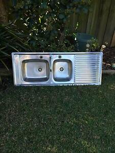 Kitchen sink - Double bowl with spout Wattle Grove Liverpool Area Preview