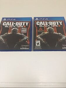 Two Black ops 3 Game PS4